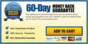 The Bum Gun hassle free money back guarantee